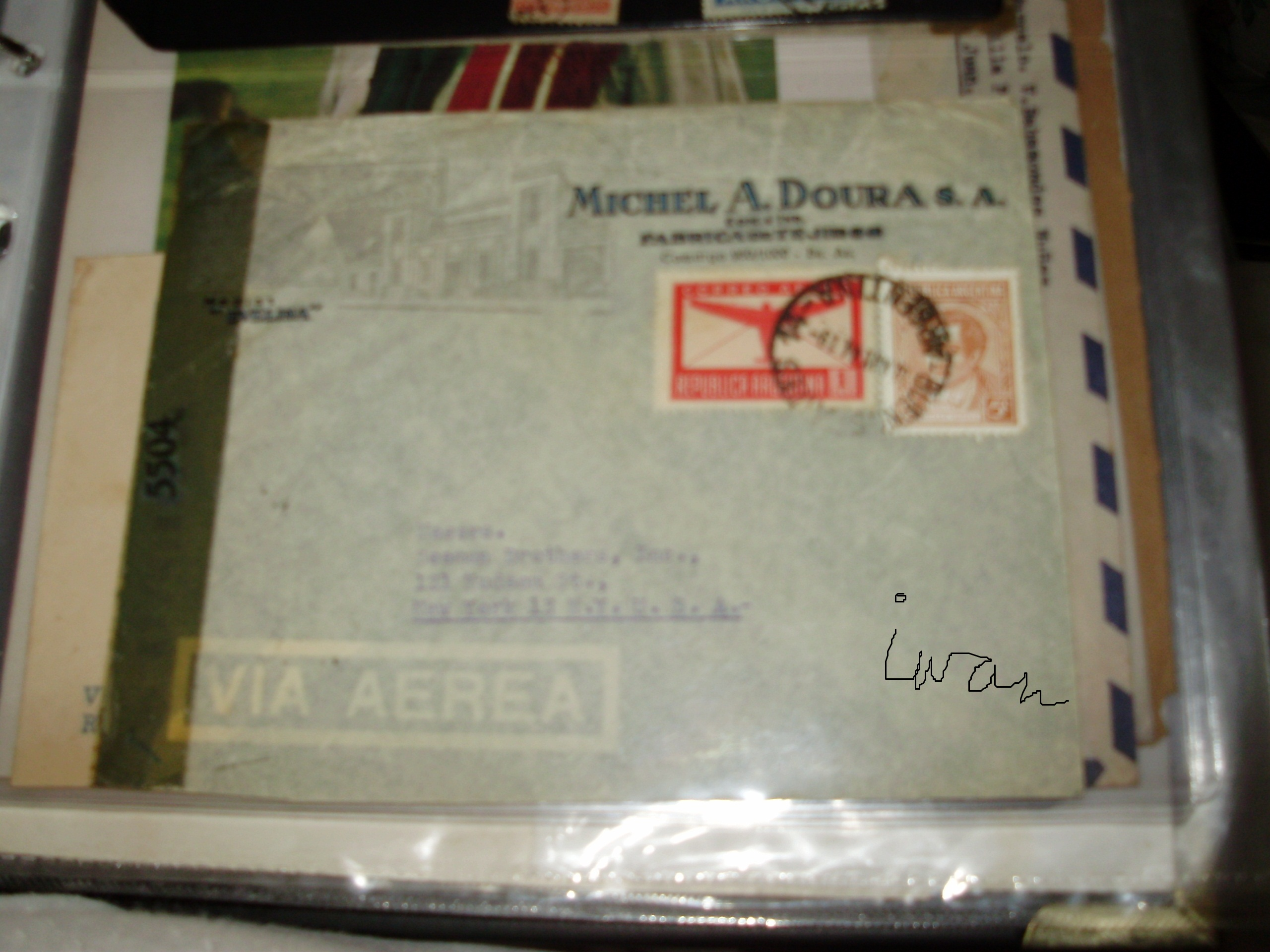 1939 Distinctive For Its Traditional Properties 2 Argentina Upu Congress Postally Used And Delgate Internal Covers