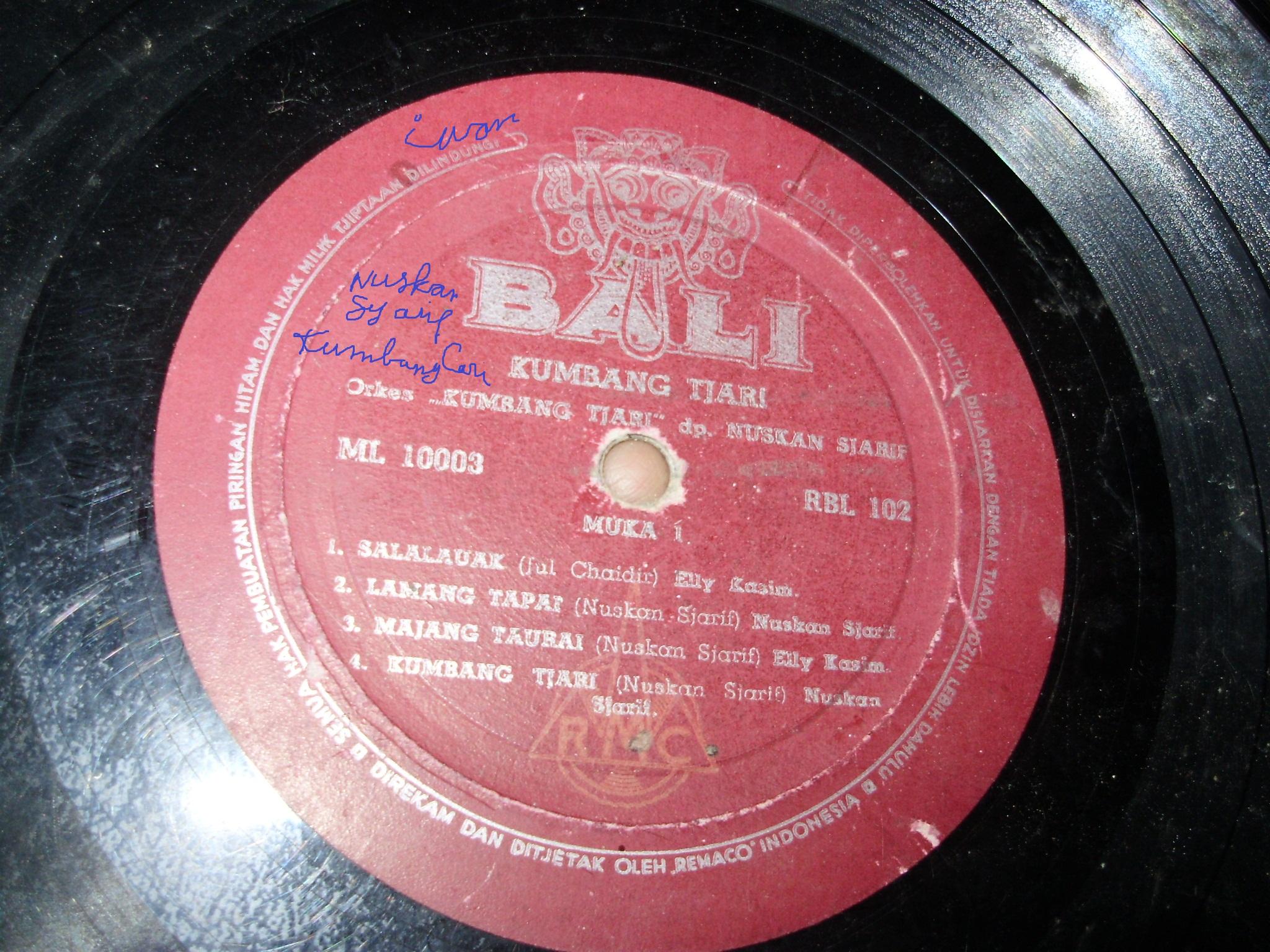 2) Bali Record Music