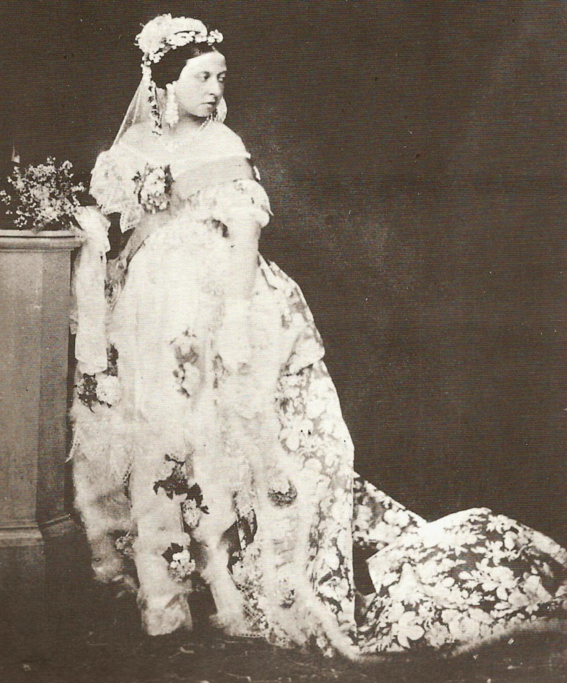 White Wedding Dress Queen Victoria