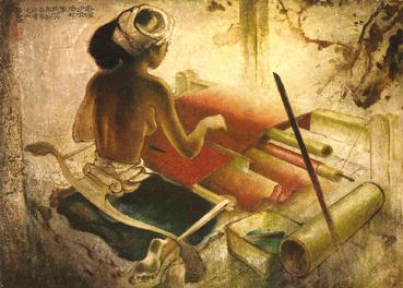 famous goldfish painting