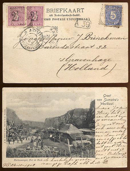Image result for padang panjang Picture post card to Holland   tied by PADANG PANDJANG